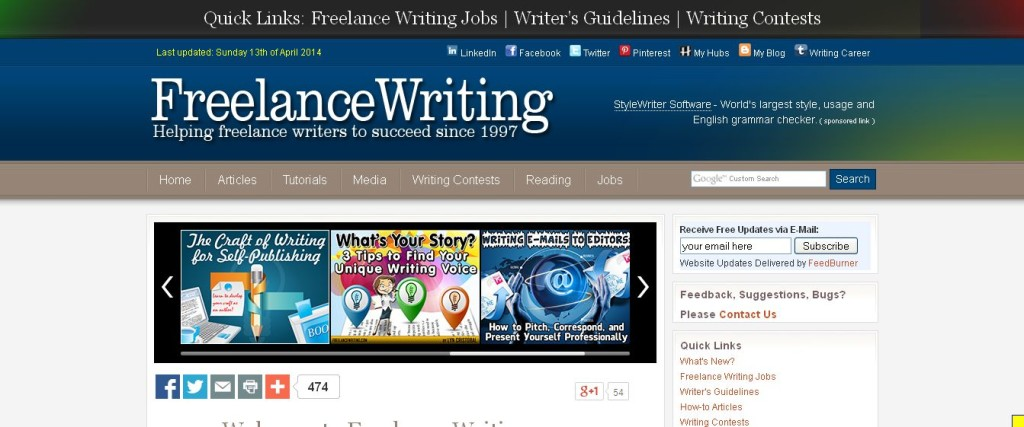 Best freelance content writing websites
