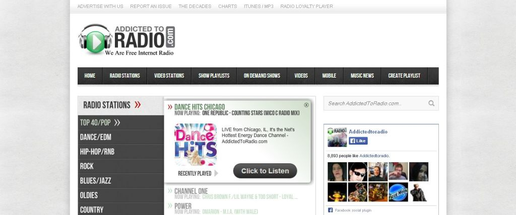 Radio Online Streaming With Chat Room